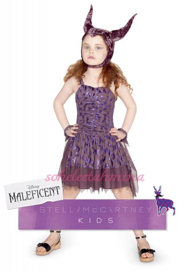 Maleficent Tulle Dress- Disney Maleficent Stella McCartney Kids Collection 2014- Sohelee