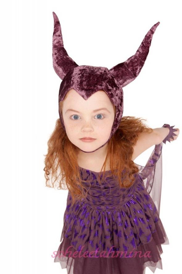 Maleficent Tulle Dress- Disney Maleficent Stella McCartney Kids Collection 2014- Sohelee1