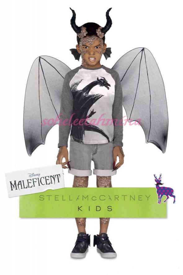 Max T-shirt- Disney Maleficent Stella McCartney Kids Collection 2014- Sohelee