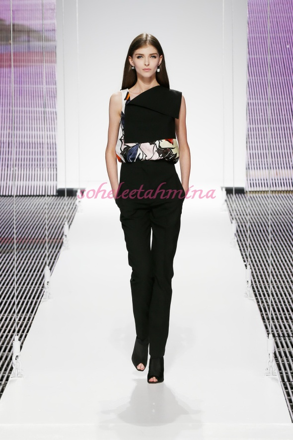 Silhouette 1- Dior Cruise 2015 Collection- Sohelee
