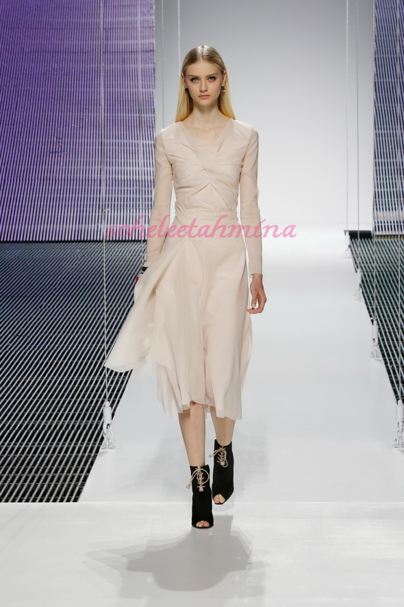 Silhouette 13- Dior Cruise 2015 Collection- Sohelee