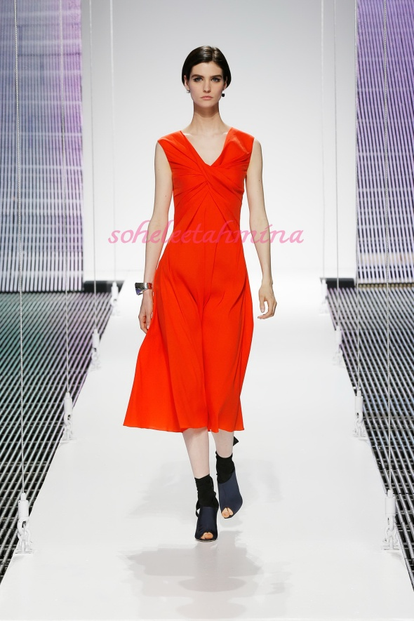 Silhouette 15- Dior Cruise 2015 Collection- Sohelee