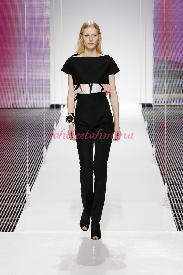 Silhouette 2- Dior Cruise 2015 Collection- Sohelee