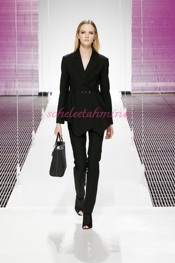 Silhouette 3- Dior Cruise 2015 Collection- Sohelee