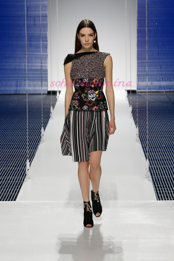 Silhouette 34- Dior Cruise 2015 Collection- Sohelee