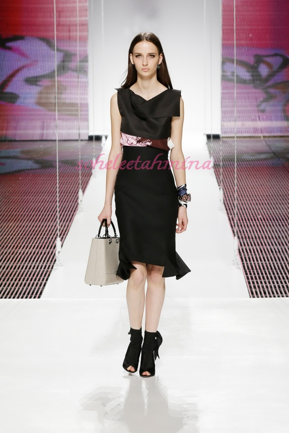 Silhouette 5- Dior Cruise 2015 Collection- Sohelee