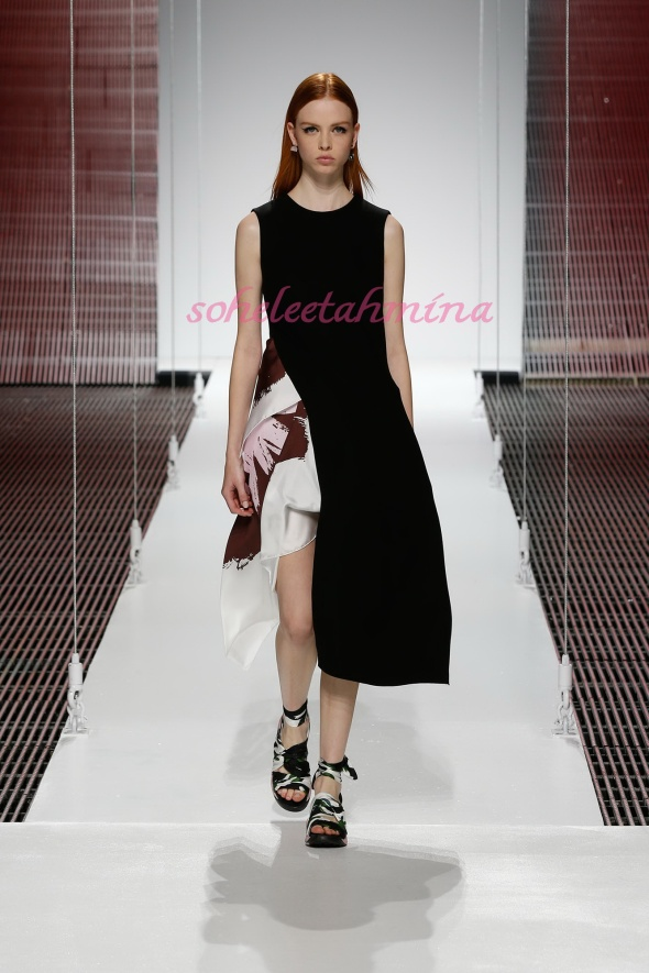 Silhouette 53- Dior Cruise 2015 Collection- Sohelee