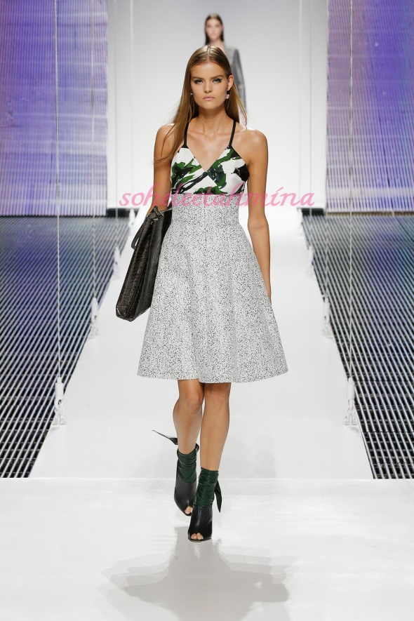 Silhouette 55- Dior Cruise 2015 Collection- Sohelee