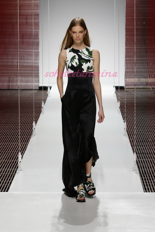 Silhouette 56- Dior Cruise 2015 Collection- Sohelee