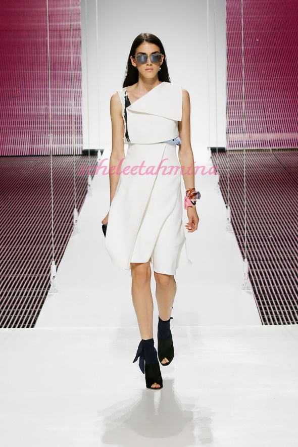 Silhouette 6- Dior Cruise 2015 Collection- Sohelee