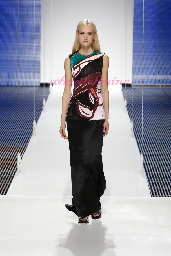 Silhouette 63- Dior Cruise 2015 Collection- Sohelee