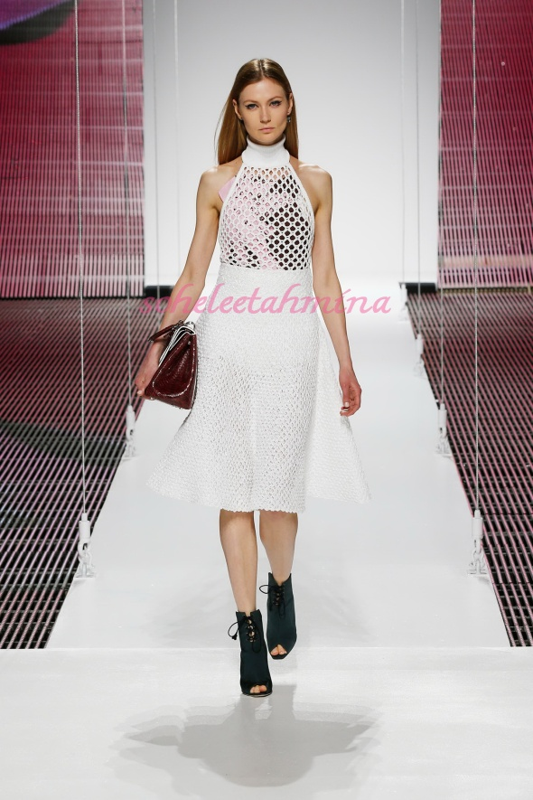 Silhouette 8- Dior Cruise 2015 Collection- Sohelee