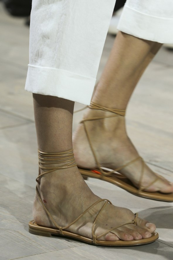 Ankle-Wrap Flats- Michael Kors SS15- NYFW14- Sohelee2