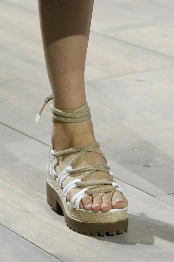Ankle-Wrap Flats- Michael Kors SS15- NYFW14- Sohelee4