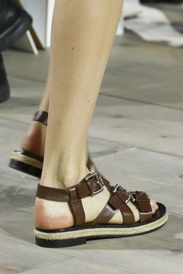 Ankle-Wrap Flats- Michael Kors SS15- NYFW14- Sohelee7