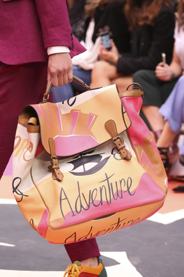 Book Cover Print Bag- Burberry Prorsum SS15- LFW14- Sohelee