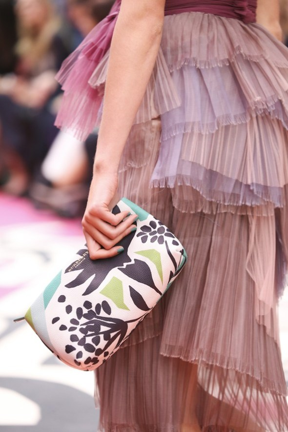 Book Cover Print Pouch- Burberry Prorsum SS15- LFW14- Sohelee1