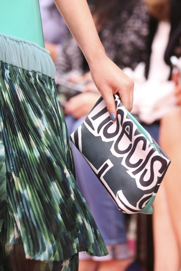 Book Cover Print Pouch- Burberry Prorsum SS15- LFW14- Sohelee4