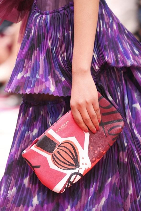 Book Cover Print Pouch- Burberry Prorsum SS15- LFW14- Sohelee6
