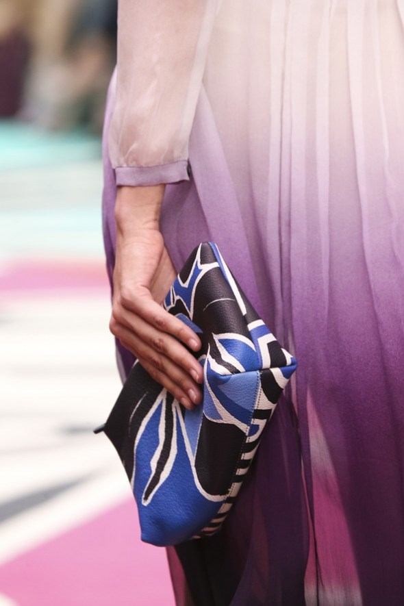 Book Cover Print Pouch- Burberry Prorsum SS15- LFW14- Sohelee7