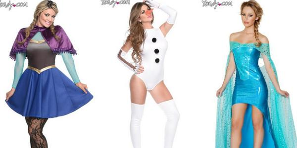 "Yandy's ""Frozen"" Themed Halloween Costumes- Sohelee"
