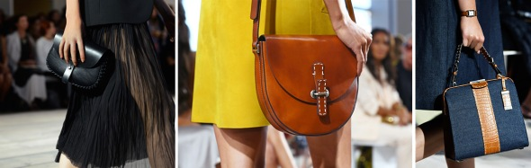 Crocodile Leather with Mixed Materials Bags- Michael Kors SS15- NYFW14- Sohelee