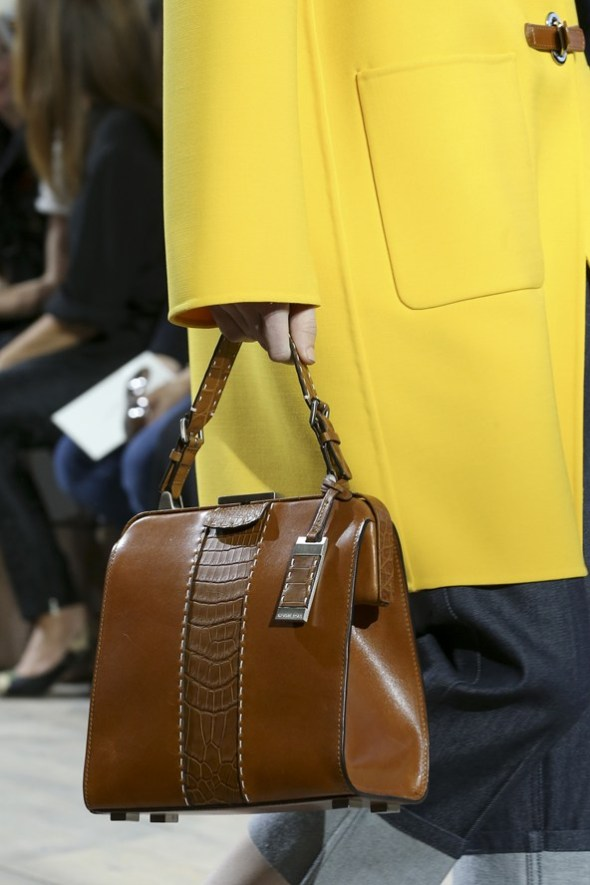 Crocodile Leather with Mixed Materials Bags- Michael Kors SS15- NYFW14- Sohelee1
