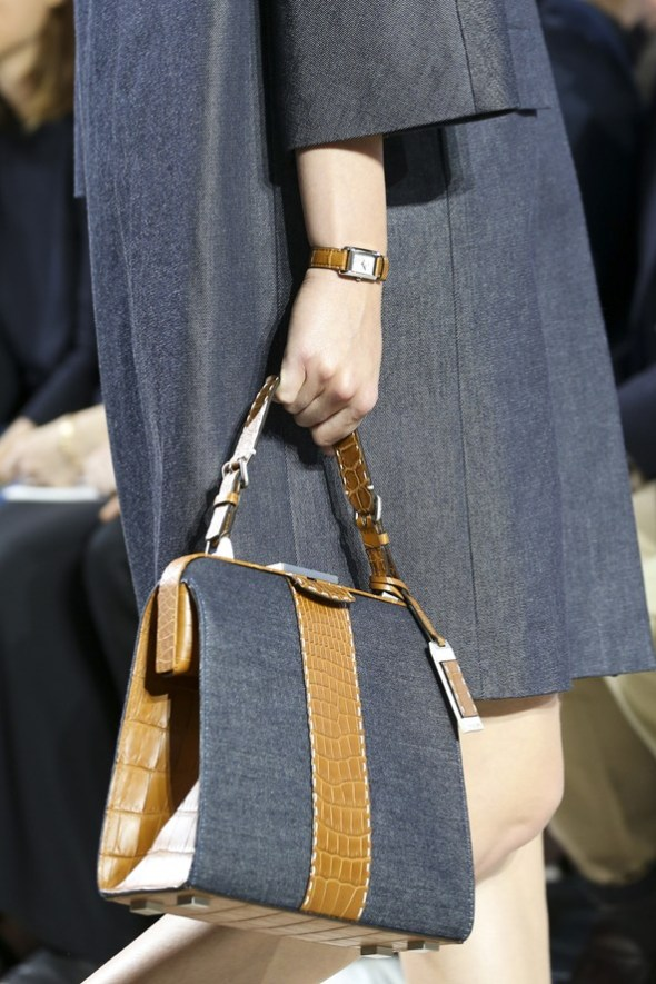 Crocodile Leather with Mixed Materials Bags- Michael Kors SS15- NYFW14- Sohelee10