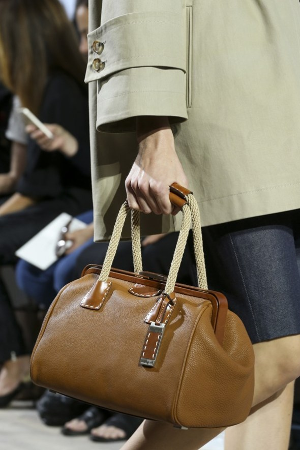 Crocodile Leather with Mixed Materials Bags- Michael Kors SS15- NYFW14- Sohelee6