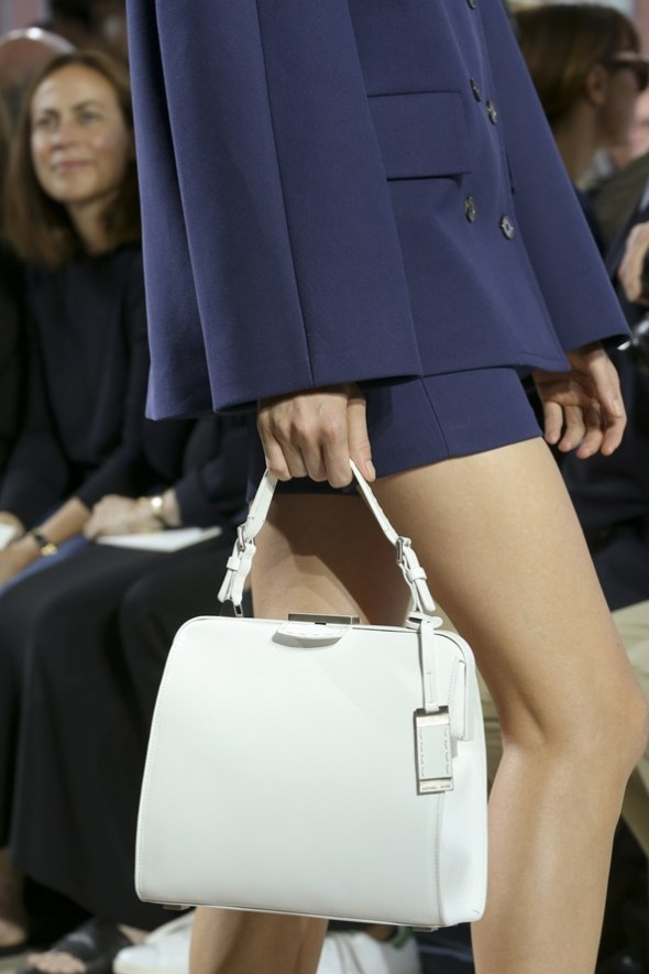 Crocodile Leather with Mixed Materials Bags- Michael Kors SS15- NYFW14- Sohelee8