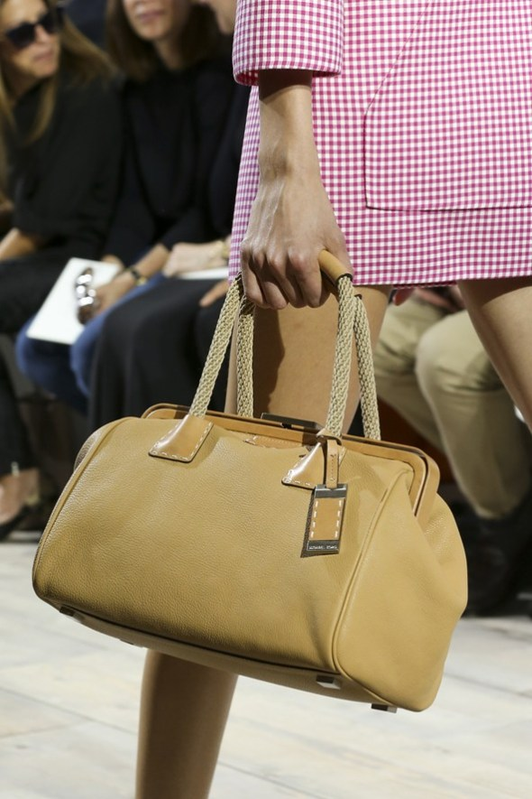 Crocodile Leather with Mixed Materials Bags- Michael Kors SS15- NYFW14- Sohelee9