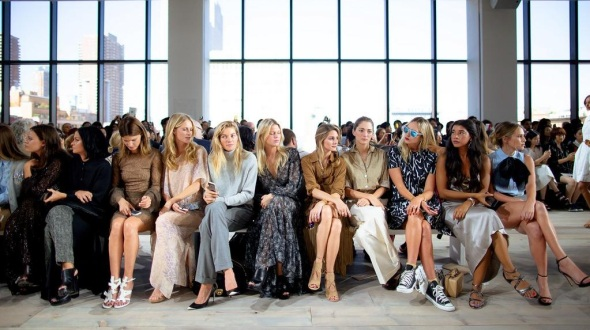 Front Row- Michael Kors SS15- NYFW14- Sohelee