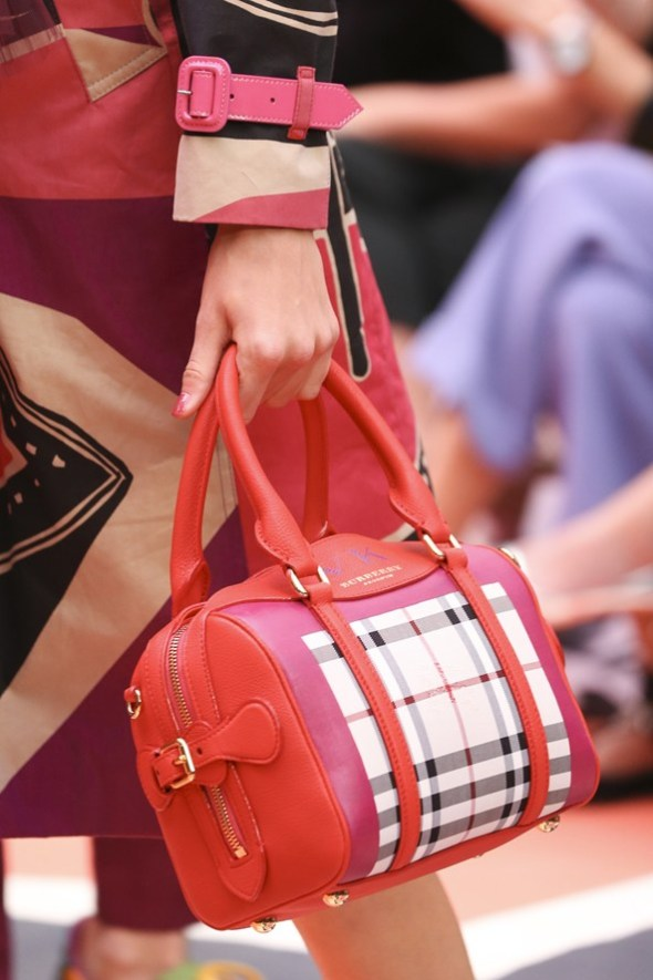 Horseferry Check Bee Bag- Burberry Prorsum SS15- LFW14- Sohelee