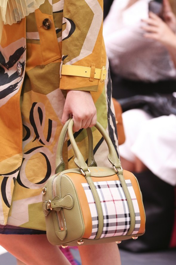 Horseferry Check Bee Bag- Burberry Prorsum SS15- LFW14- Sohelee1
