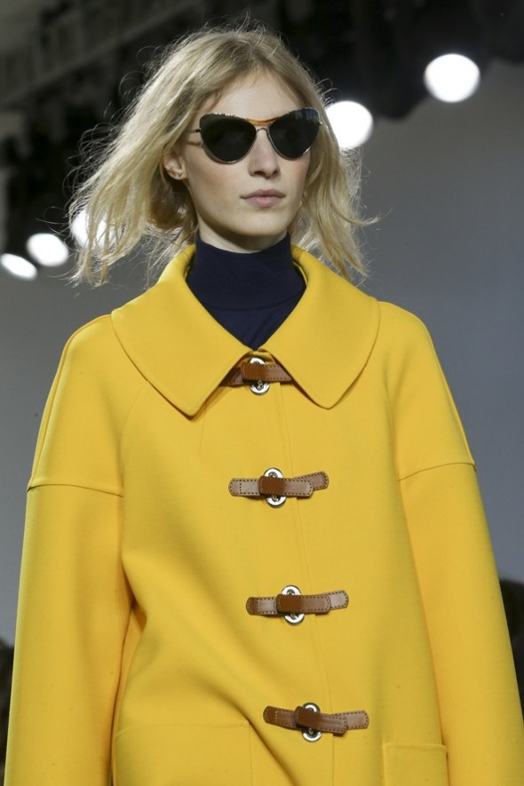 Shades and Coat- Michael Kors SS15- NYFW14- Sohelee