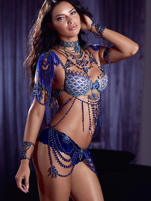 Addriana Lima - Victoria's Secret $2 Million 'Fantasy Bra' 2014- $2 Million Bra's'
