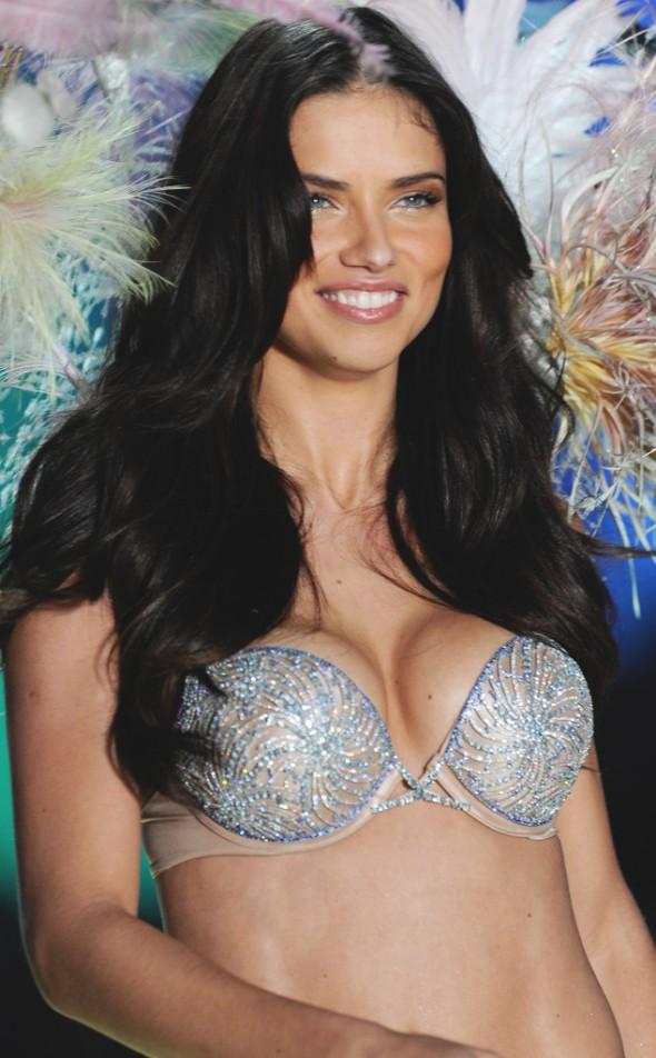 Victoria's Secret Fantasy Bra through the years - Adriana Lima 2010