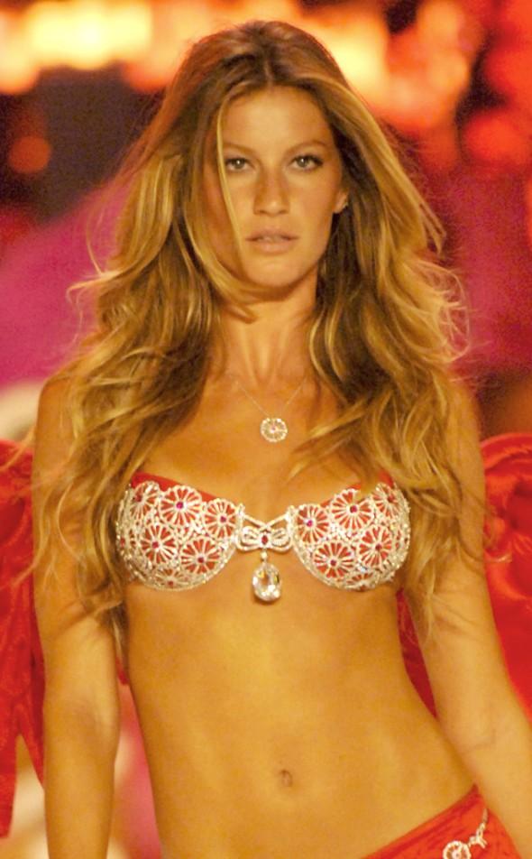Victoria's Secret Fantasy Bra through the years - Gisele Bundchen 2005